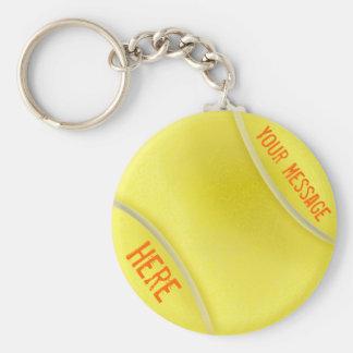Regalos personalizados llavero del tenis para las