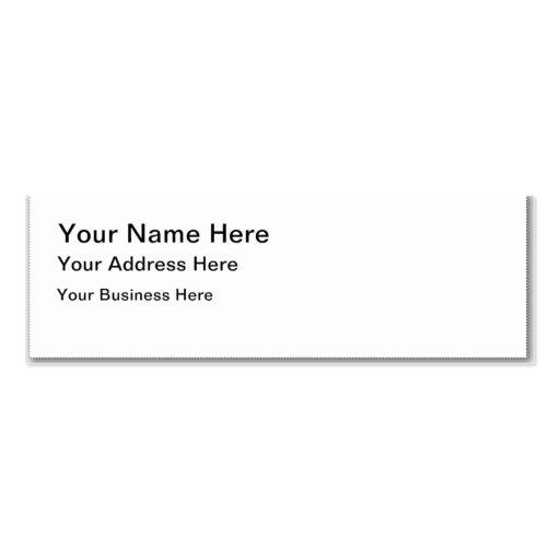 Regalos personalizados tarjetas de visita mini
