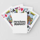 Regalos preescolares lindos de la graduación baraja de cartas