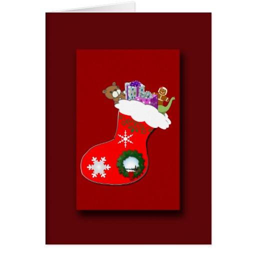 Regalos preferidos del navidad tarjeta de felicitación