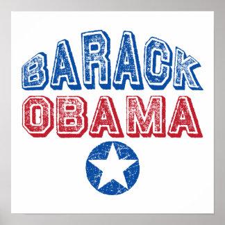 Regalos presidenciales de las camisetas de la estr poster