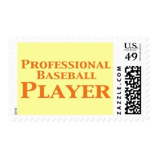 Regalos profesionales del jugador de béisbol sello
