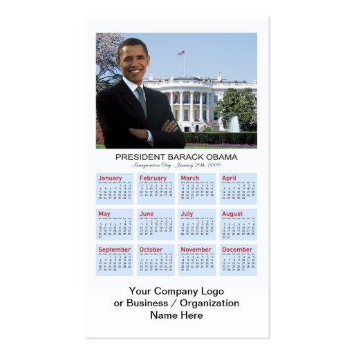 Regalos promocionales de Obama - tarjeta Tarjetas De Visita