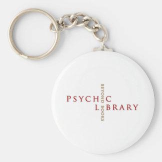 Regalos psíquicos de la biblioteca llavero personalizado