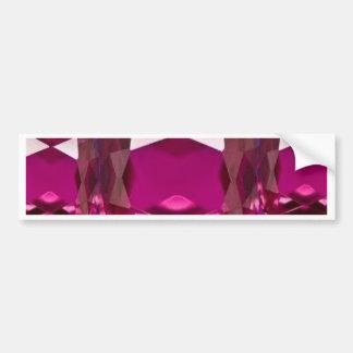 Regalos púrpuras de Birthstone del granate por Pegatina Para Auto