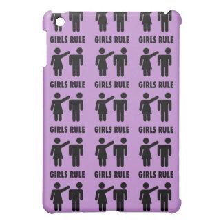 Regalos púrpuras de la feminista del poder del chi iPad mini cárcasas