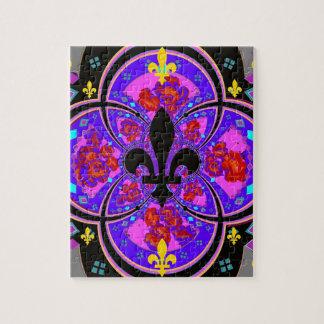 Regalos púrpuras de la reina Pagentry del desfile Rompecabeza