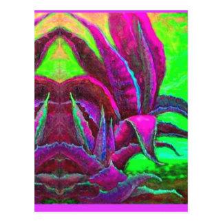 Regalos púrpuras del desierto del agavo por Sharle Postales