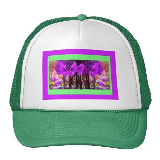 Regalos púrpuras del jardín del Amaryllis por Shar Gorro