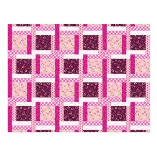 Regalos púrpuras rosados bonitos del diseño del ed postales