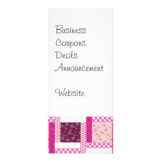 Regalos púrpuras rosados bonitos del diseño del tarjetas publicitarias