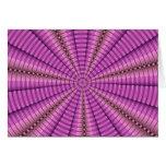Regalos púrpuras rosados frescos del modelo del fr felicitacion
