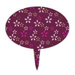 Regalos púrpuras y rosados del vino de la mora del figura de tarta