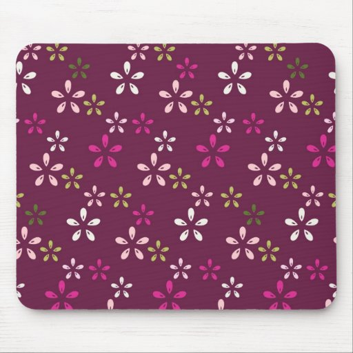 Regalos púrpuras y rosados del vino de la mora del tapetes de ratón