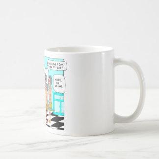 Regalos raros divertidos del dibujo animado de los taza de café
