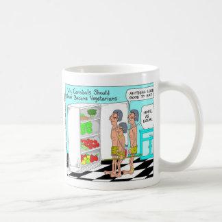 Regalos raros divertidos del dibujo animado de los tazas de café
