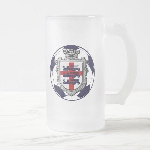 Regalos reales de la bandera de Inglaterra del bal Taza De Café