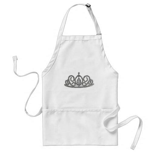 Regalos reales de la tiara delantal