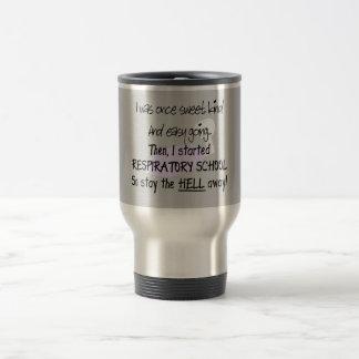 Regalos respiratorios del estudiante de la terapia taza de café