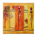 Regalos retros 01 del estilo del vintage de África Teja Ceramica