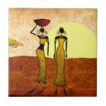 Regalos retros 24 del estilo del vintage de África Azulejo