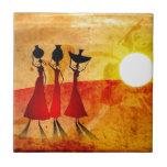 Regalos retros 27 del estilo del vintage de África Azulejos