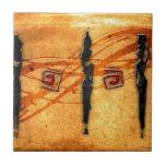 Regalos retros 30 del estilo del vintage de África Azulejo Ceramica