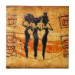 Regalos retros 36 del estilo del vintage de África Azulejos Ceramicos