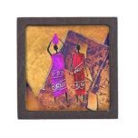 Regalos retros AF090 del estilo del vintage de Caja De Joyas De Calidad