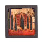 Regalos retros AF105 del estilo del vintage de Cajas De Recuerdo De Calidad