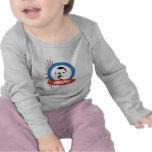 Regalos retros de Favorable-Obama Camisetas