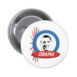 Regalos retros de Favorable-Obama Pins