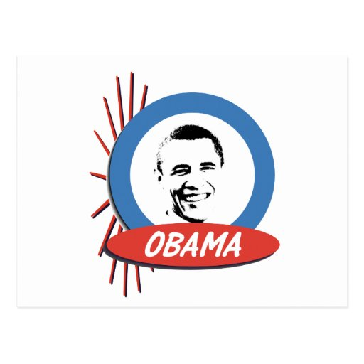 Regalos retros de Favorable-Obama Postal