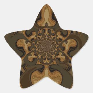 Regalos retros de Hakuna Matata de los gráficos de Calcomanía Forma De Estrella Personalizadas