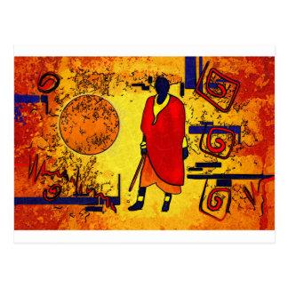 Regalos retros del estilo del vintage de África Postal
