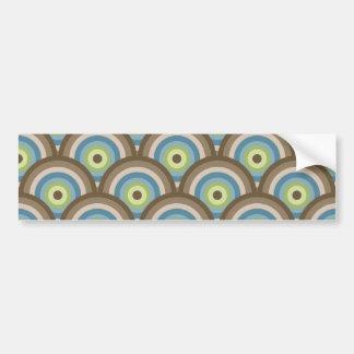 Regalos retros frescos del personalizado del model etiqueta de parachoque