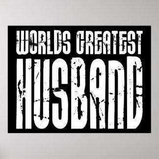 Regalos retros para el marido más grande del mundo impresiones