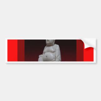 Regalos rojos antiguos de Buddah Sculptrue por Pegatina Para Auto