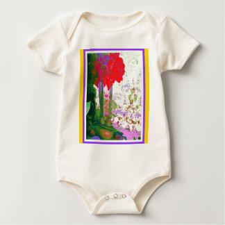 Regalos rojos de Plany del Amaryllis por Sharles Mameluco De Bebé