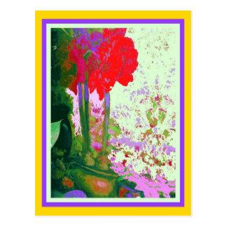 Regalos rojos de Plany del Amaryllis por Sharles Postal