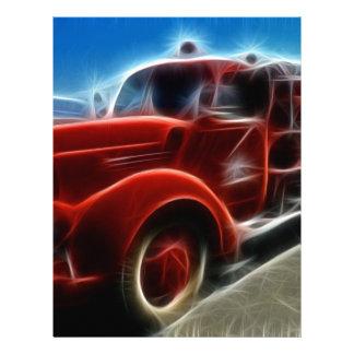 Regalos rojos del destino del héroe del coche de b plantillas de membrete