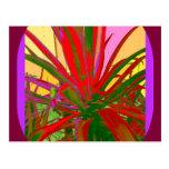 Regalos rojos del diseño del desierto del sudoeste postales