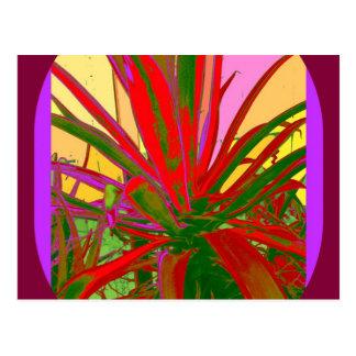 Regalos rojos del diseño del desierto del sudoeste tarjetas postales