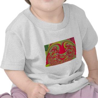 Regalos rojos y verdes de Hakuna Matata del vintag Camisetas