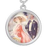 Regalos románticos del Victorian antiguo del vinta Colgantes Personalizados