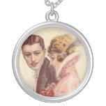 Regalos románticos del Victorian antiguo del vinta Pendiente Personalizado