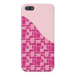 Regalos rosados bonitos del modelo de onda de la t iPhone 5 carcasa