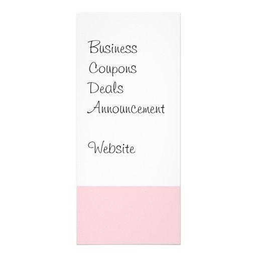Regalos rosados bonitos del modelo de onda de la t tarjetas publicitarias