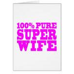 Regalos rosados frescos para las esposas: Esposa e Felicitación