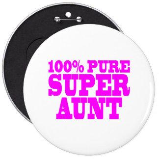 Regalos rosados frescos para las tías: Tía estupen Pins
